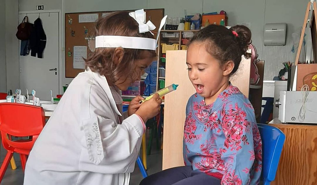 À descoberta da higiene oral